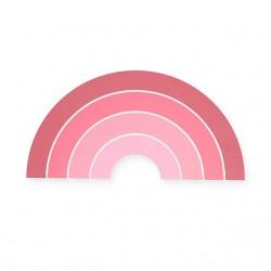 Led lamp seinale vikerkaar, roosa