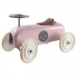 Pealeistutav auto Vintage, roosa