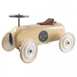 Pealeistutav auto Vintage, kreem