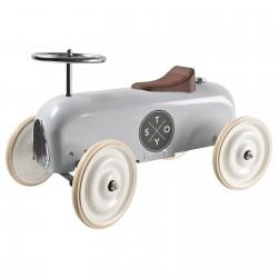 Pealeistutav auto Vintage, helehall
