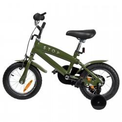 "Jalgratas Cruiser 12"" abiratastega , tumeroheline"