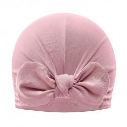 Bambusmüts turban, blush pink