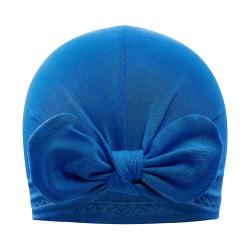 Bambusmüts turban, sinine