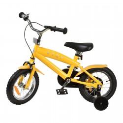 "Jalgratas Cruiser 12"" abiratastega , kollane"