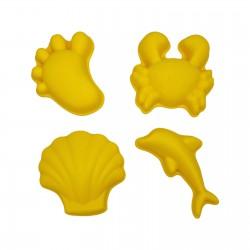 Scrunch liivavormid, kollane