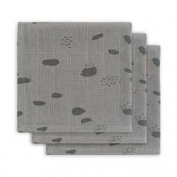Beebilapid 31x31 cm, 3 tk, storm grey