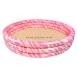 Lastebassein Pink Zebra Ø 150 cm
