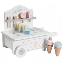 Ratastel jäätisekäru