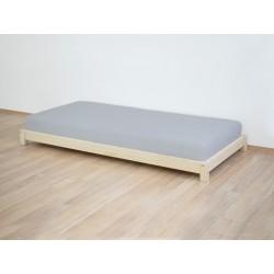 Puidust voodi Teeny, naturaalne