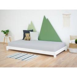 Puidust voodi Teeny, valge