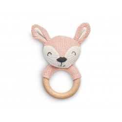 Närimisrõngas Deer, pale pink