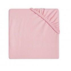 Kummiga voodilina 60x120, roosa