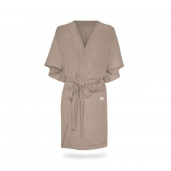 Hommikumantel / kimono, linane, rainy day