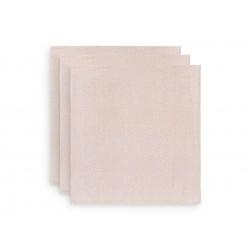 Musliinlapid, 70x70 cm, 3 tk, snake pale pink