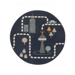 Lastetoa vaip Juno sinine, Ø 120CM