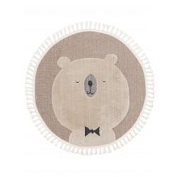 Lastetoa vaip Momo bear beež Ø 120 cm