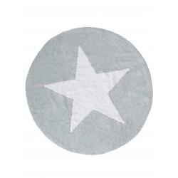 Pestav lastetoa vaip Bambini Ø 150CM, star, sinine