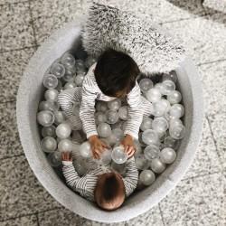 Pallimeri + 200 palli, helehall