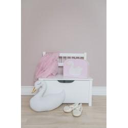 2fdb3a20c12 Laste puidust hoiukast/pink, valge