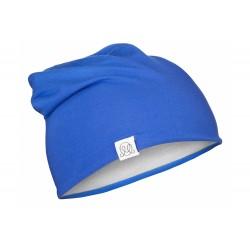 Müts, bambus, sinine-helehall