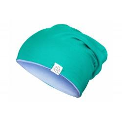 Müts, bambus, roheline-sinine